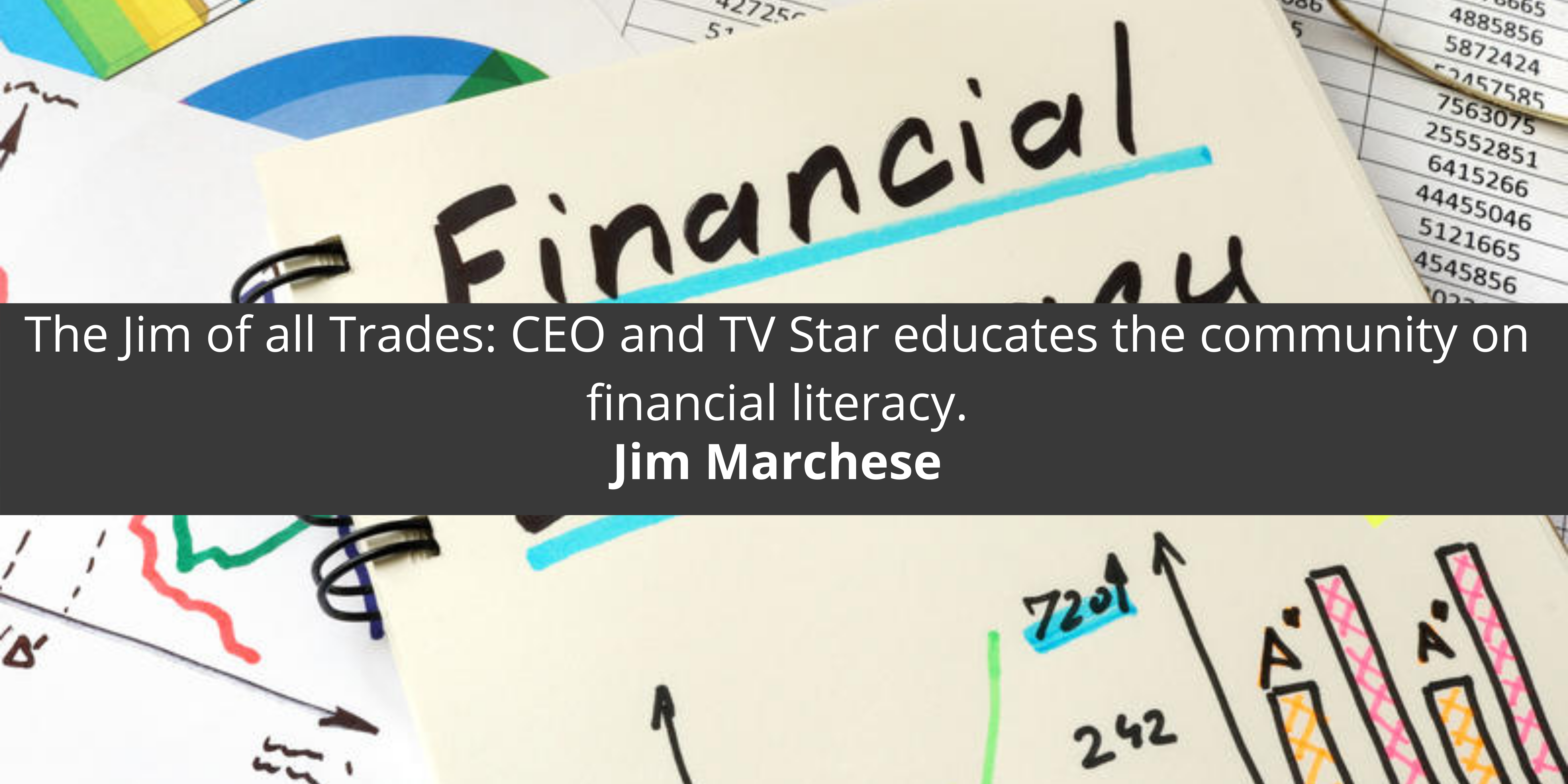 Jim Marchese all Trades: CEO and TV Star community on financial literacy.